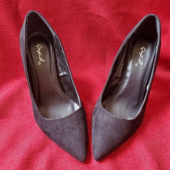 Qupid Shoes - Black pumps